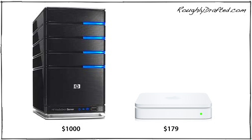 airport extreme. Server vs AirPort Extreme