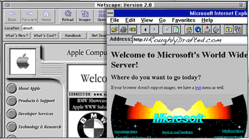 Apple in the Web Browser Wars: Netscape vs Internet Explorer
