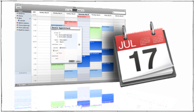 Using iPhone: iCal, CalDAV Calendar Servers, and Mac OS X Leopard