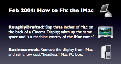 Feb 2004: How to Fix the iMac