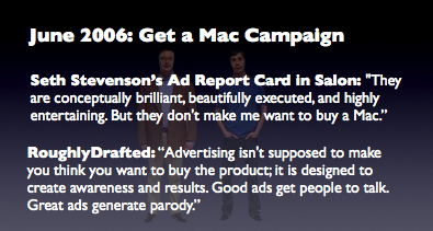 June 2006: Get a Mac Campaign