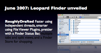 June 2007: Leopard Finder unveiled