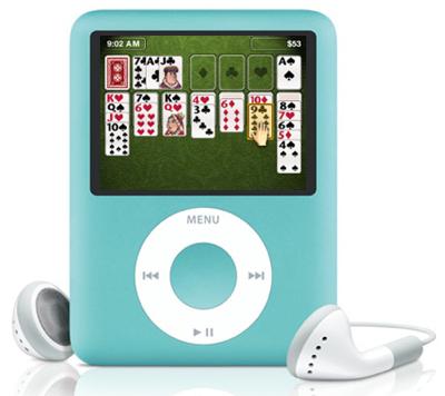 ipod games free  nano