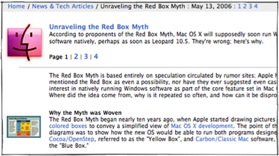 The Red Box Myth