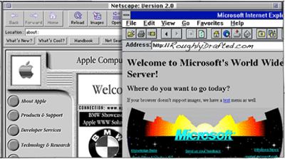 Apple in the Web Browser Wars: Netscape vs Internet Explorer