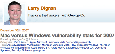 Ou Vulnerbility stats Dignan