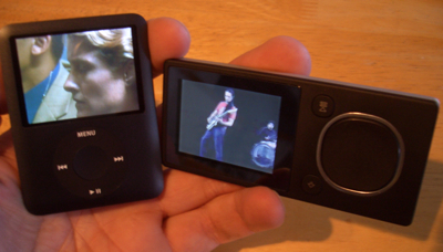 Winter 2007 Buyers Guide iPod vs Zune