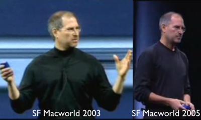 Steve Jobs 2003 2005