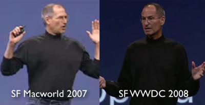 Steve Jobs 2007 2008