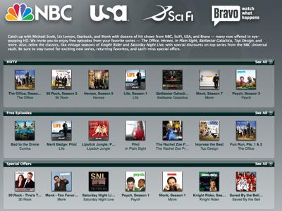NBC iTunes