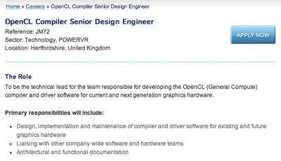 OpenCL jobs