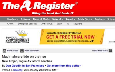 register fear